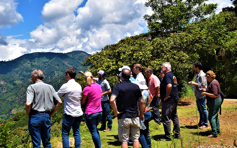An investor expedition to coffee farms of The Green Coffee Company, a Legacy portfolio company