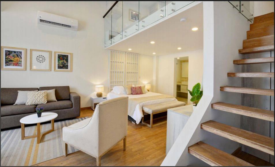 Cartagena Suites: Short term residence in Manga, a traditional sector in Cartagena that is becoming a top choice for visitors who want to avoid the noise of the walled city.