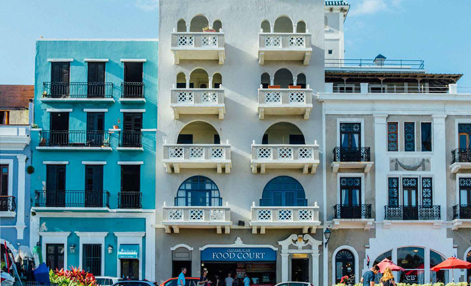 Plaza Colon Hotel and Suites: 60 key, 4-star boutique hotel overlooking historical plaza in Old San Juan, Puerto Rico.